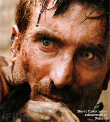 Sharlto Copley as Wikus Van De Merwe in District 9
