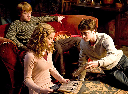 Ron, Hermione, and Harry: Year Six at Hogwarts