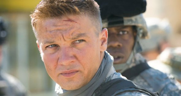 Jeremy Renner stars at Sgt. William James in The Hurt Locker