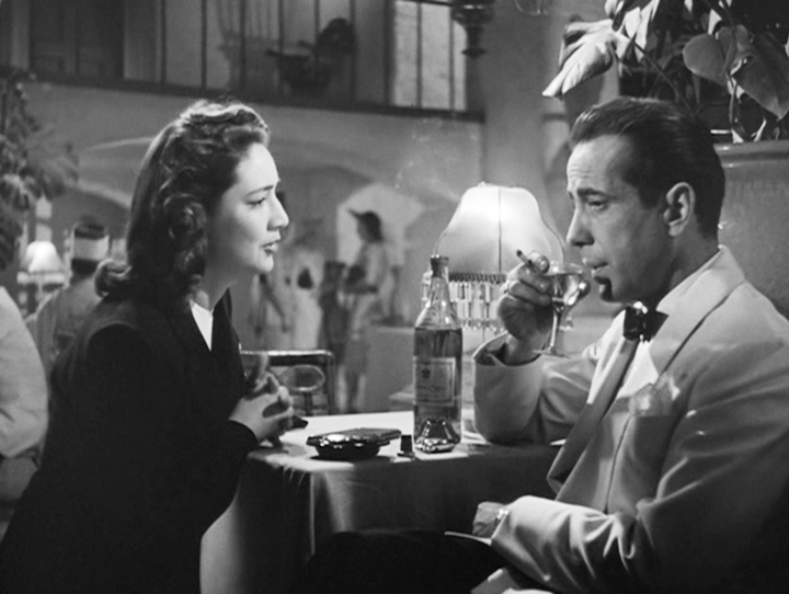 an analysis of the movie casablanca The drama of casablanca has been surpassed in other movies, and the romance has turned out much more satisfactorily elsewhere add the moral issues on top of that, and casablanca 's occasional light grays aren't worth the stain of the much more frequent dark ones.