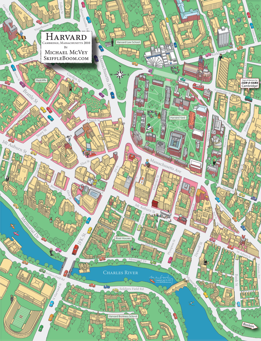 Secrets of the Harvard Map Revealed!!! from Skiffleboom.com ...