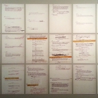 Stanley Kubrick at LACMA: Scripts and Notes for The Killing