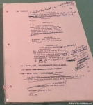 Kubrick's Script Notes and Storyboards for Lolita(1962)