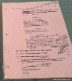 Kubrick's Script Notes and Storyboards for Lolita (1962)