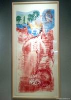 """Robert Rouschenberg's """"Sky Garden,"""" (1969)"""